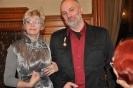 Uroczystość wręczenia Mirosławowi Goliszewskiemu Honorowej Odznaki