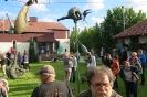 Bieguni i Wzlatacze - wernisaz wystawy rzezb Jerzego Kedziory