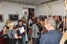Wernisaz wystawy pasteli L Tadeusza Serafina w Galerii Van Golik
